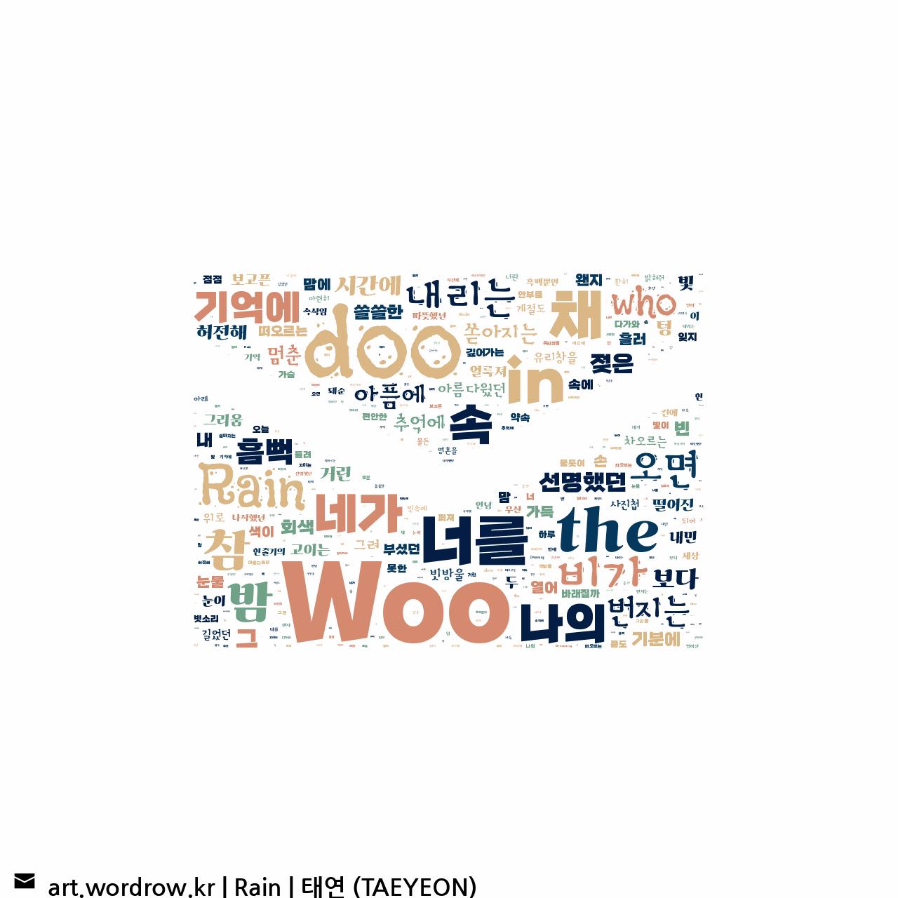 워드 아트: Rain [태연 (TAEYEON)]-20